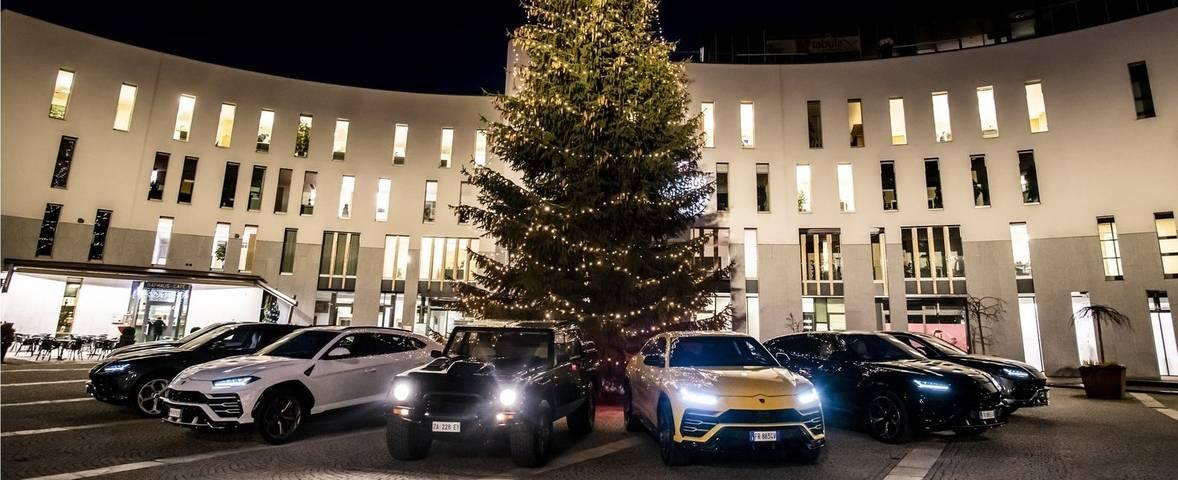 The Lamborghini Christmas drive