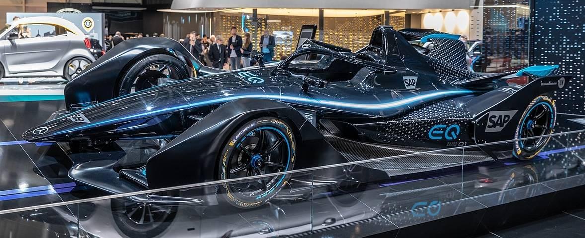 Geneva Motorshow - Silver Arrow