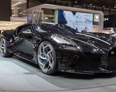 Bugatti reveals world's most expensive car