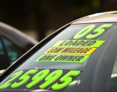 How to sell a car at a UK auction