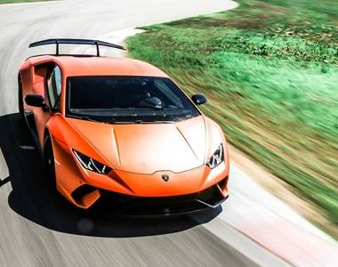 The Lamborghini Huracán sets new track records on eight international circuits
