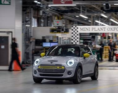Electric Mini production to boost UK car industry