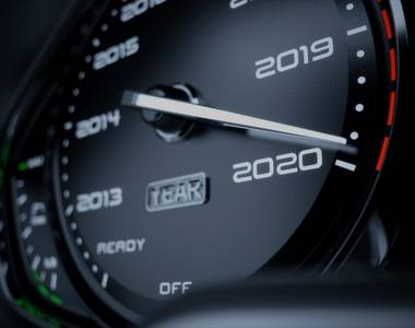car valuation speedometer - how does age affect value of vehicle?