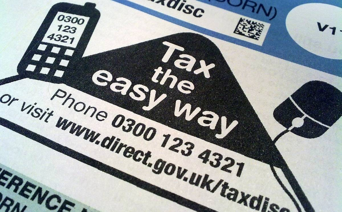 How much will my road tax be?