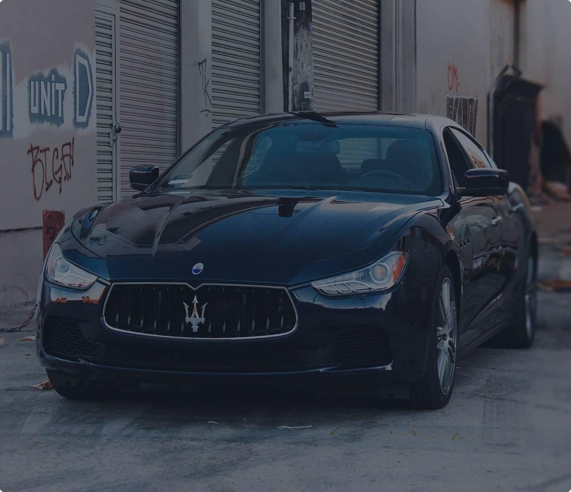 Maserati car finance quote