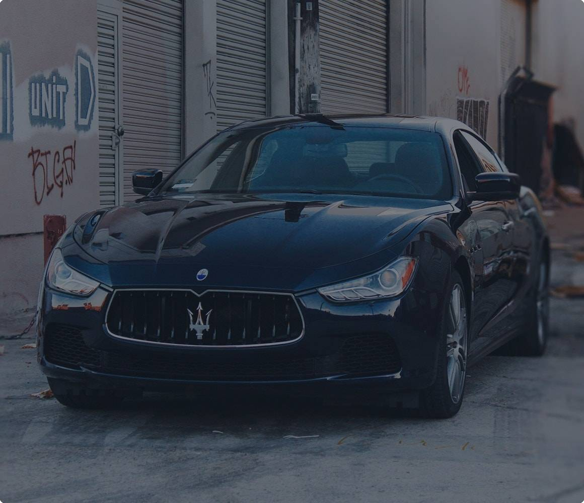 Get an instant Maserati insurance quote now