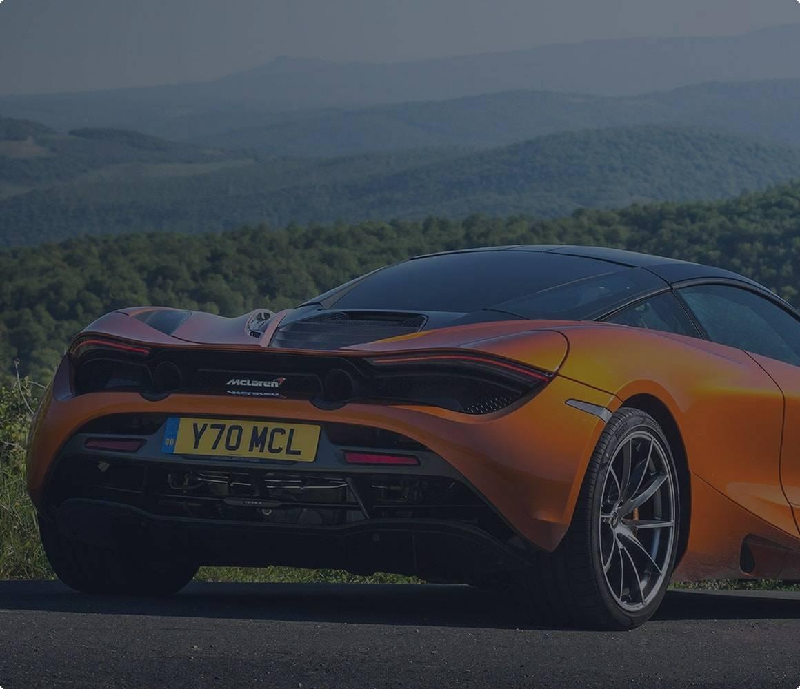 McLaren car finance quote