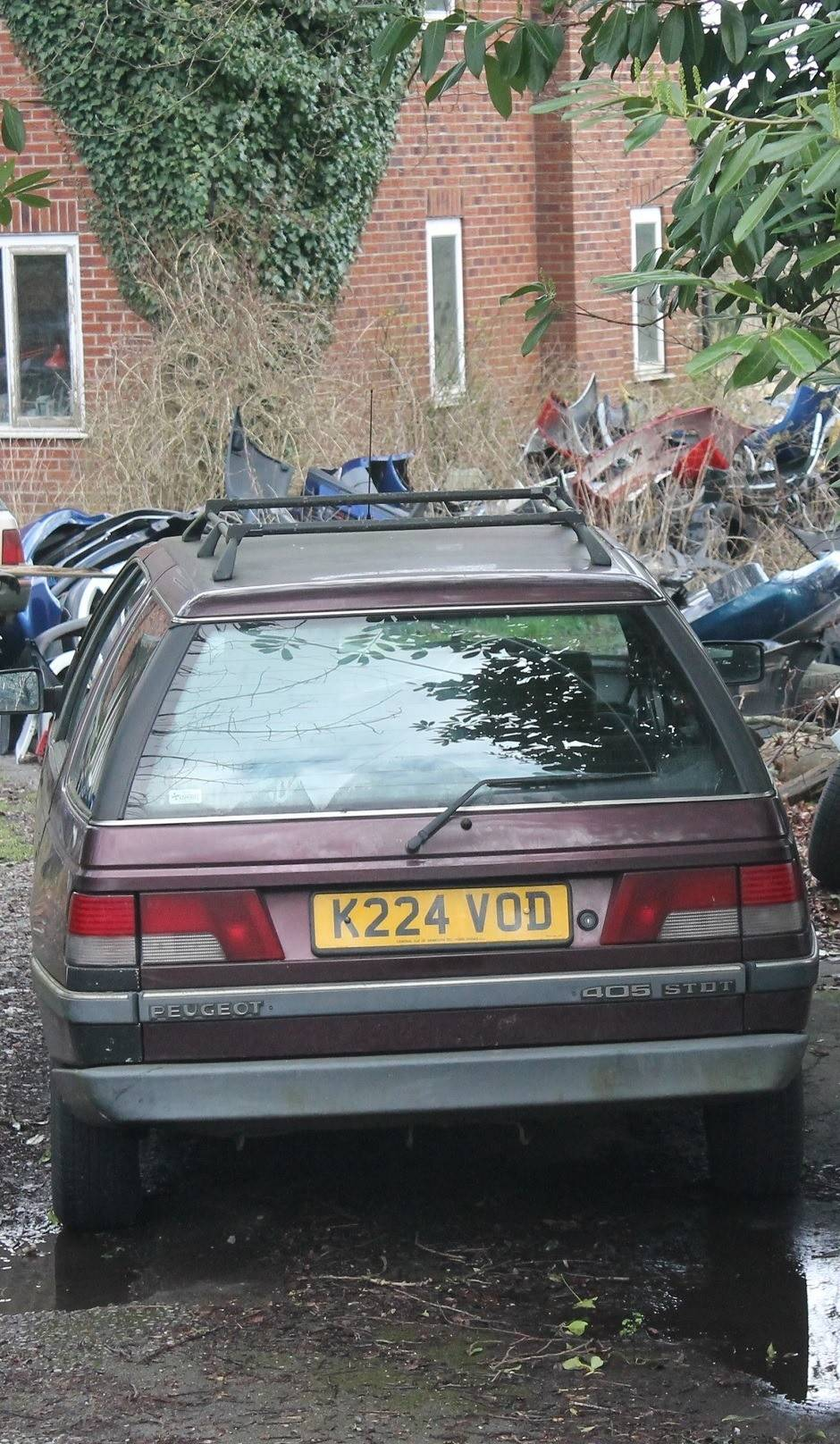 Scrap my Peugeot car