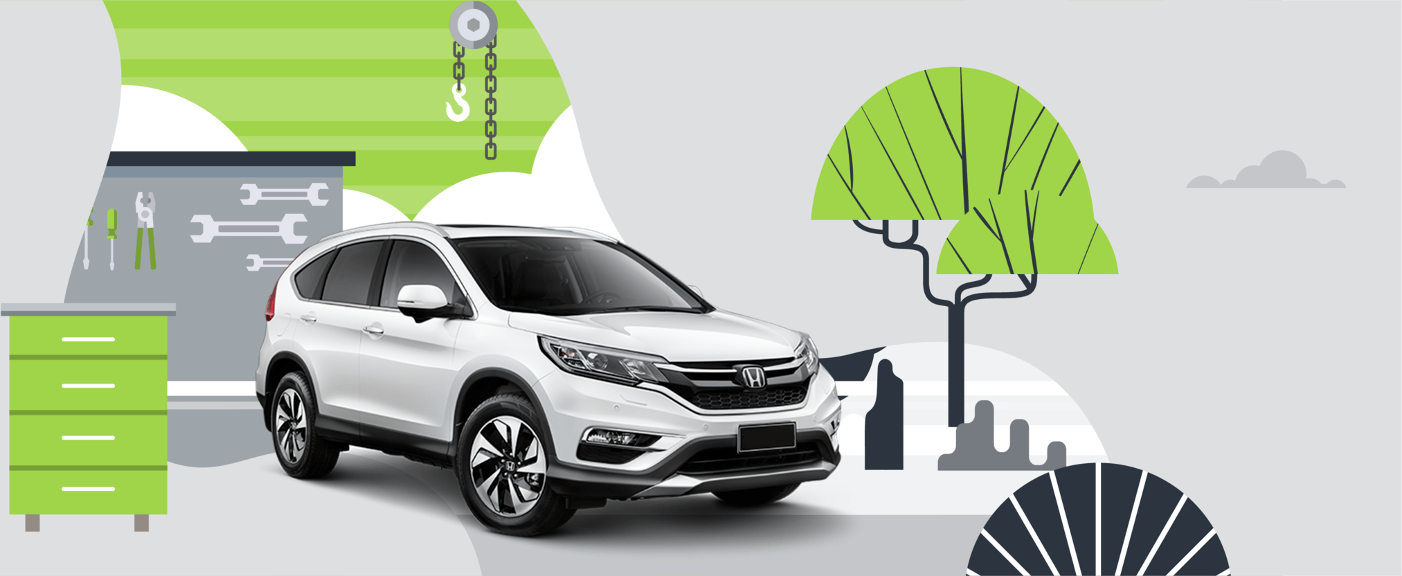 Honda CRV protected from expensive repairs
