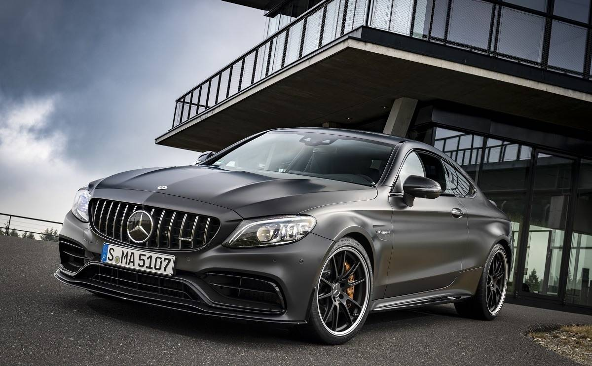 We review the Mercedes-AMG C63 S Coupe