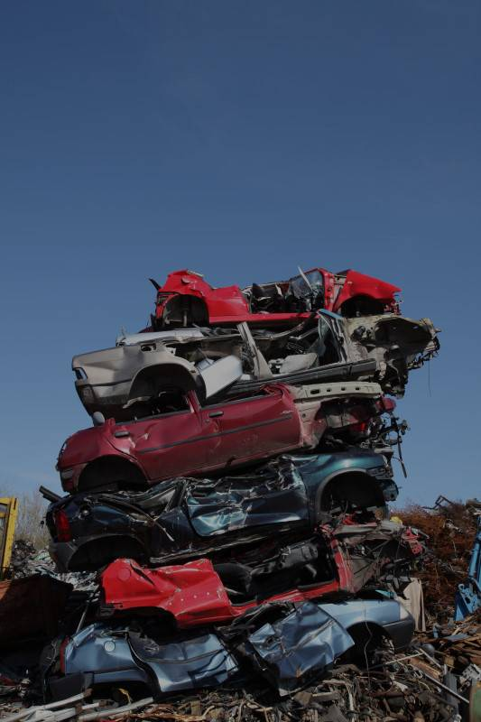 Scrap Cars in the UK