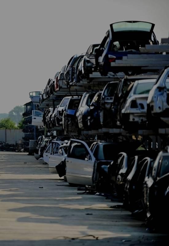 Scrap Cars at Local scrap car yard