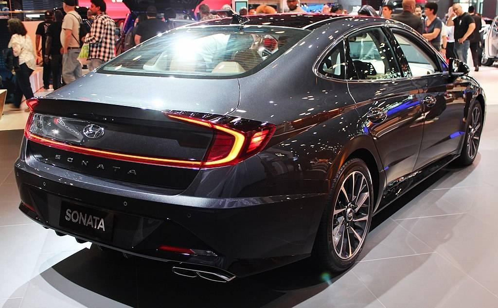 Hyundai Sonata at 2020 motorshow
