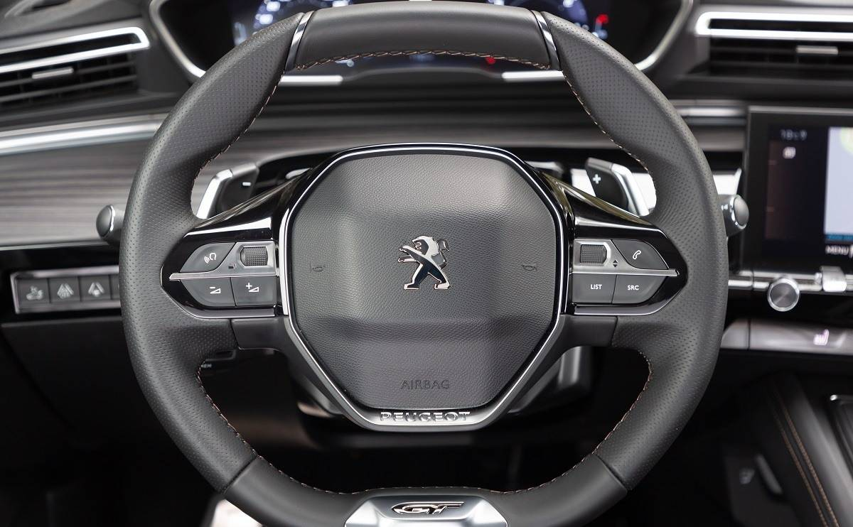 Peugeot 508 SW - The drive