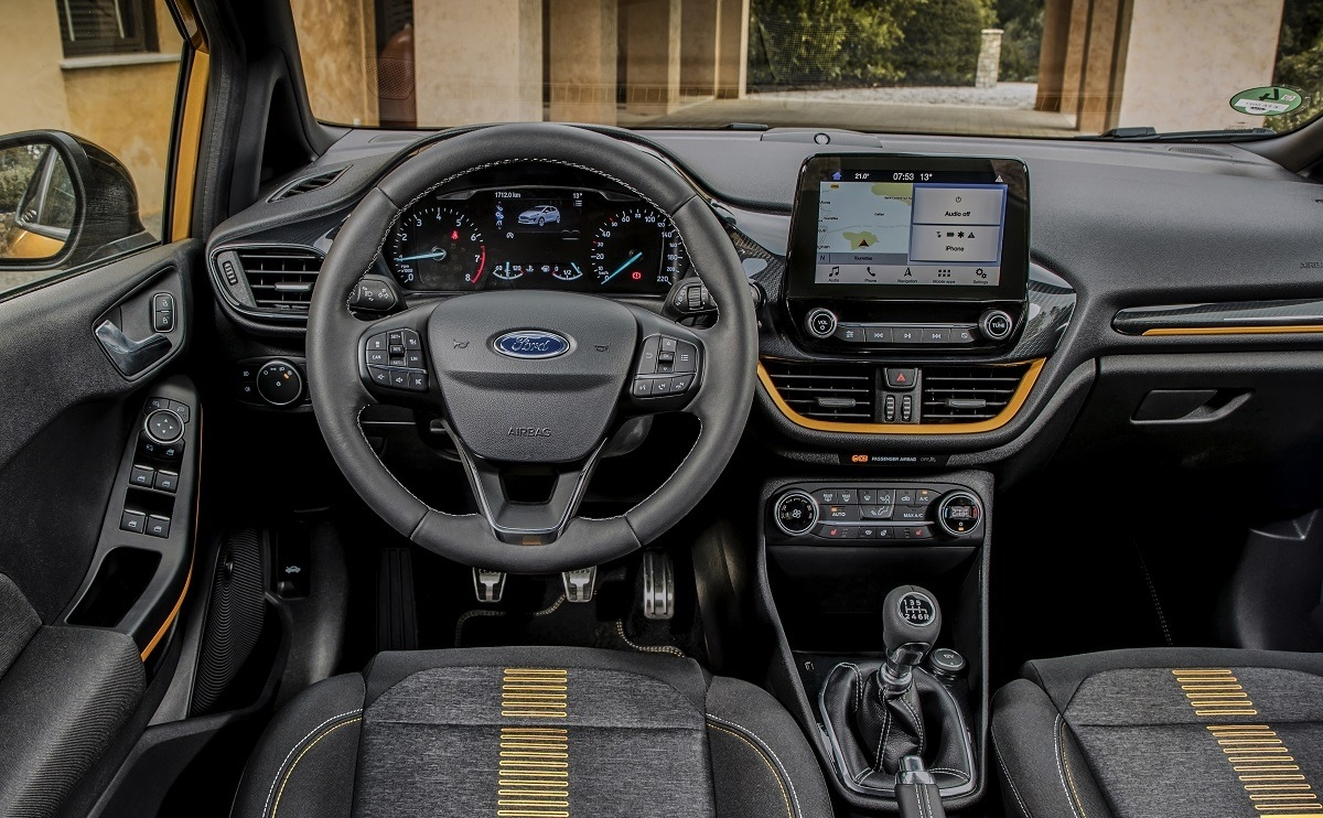 Ford Fiesta Active - The drive