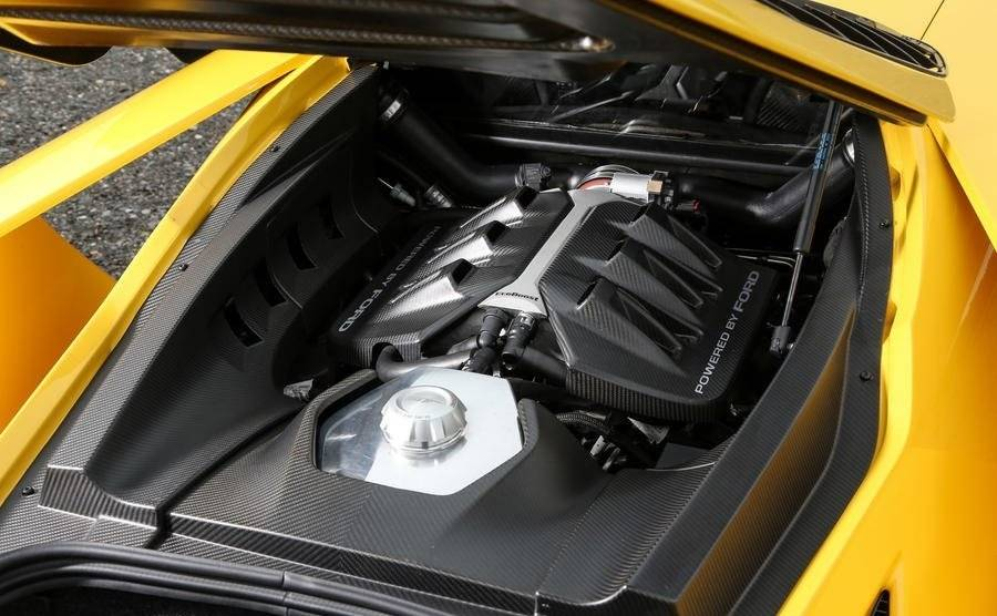 Ford GT - Engine & power