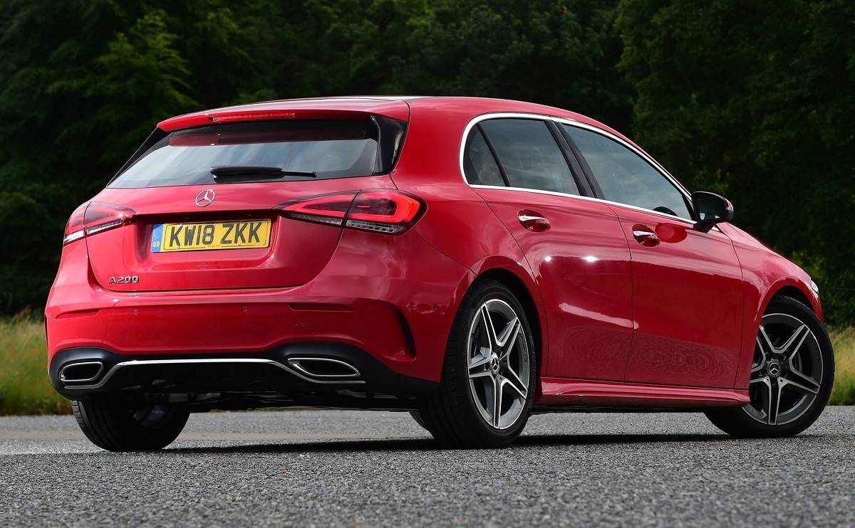 Mercedes A-Class - The drive