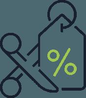 Savings of up to 30%